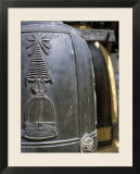 Detail of Bell at Buddhist Temple  Wat Chana Songkhram  Bangkok  Thailand  Southeast Asia
