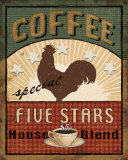 Coffee Blend Label III