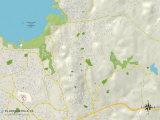 Political Map of El Dorado Hills  CA