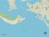 Political Map of Sanibel  FL
