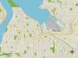 Political Map of Tacoma  WA