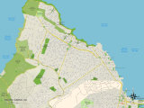 Political Map of Pacific Grove  CA