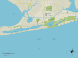 Political Map of Gulf Shores  AL