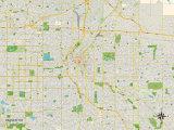 Political Map of Denver  CO