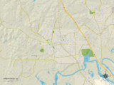Political Map of Prattville  AL