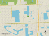 Political Map of Pembroke Park  FL