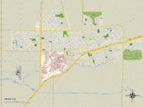 Political Map of Davis  CA