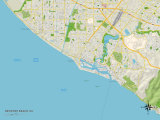 Political Map of Newport Beach  CA