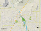 Political Map of Victorville  CA