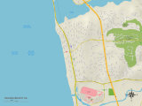 Political Map of Solana Beach  CA