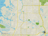 Political Map of Port Richey  FL
