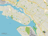 Political Map of Alameda  CA