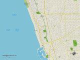 Political Map of Hermosa Beach  CA