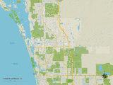 Political Map of Bonita Springs  FL