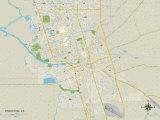 Political Map of Stockton  CA