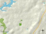 Political Map of Meadow Vista  CA