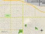Political Map of Signal Hill  CA