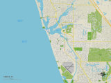 Political Map of Venice  FL