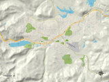 Political Map of Truckee  CA