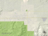 Political Map of Twentynine Palms  CA