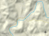 Political Map of Guerneville  CA