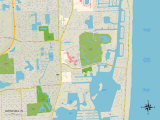 Political Map of Aventura  FL