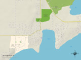 Political Map of Williams Bay  WI