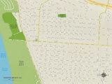 Political Map of Grover Beach  CA
