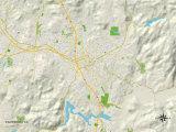 Political Map of Escondido  CA