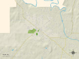 Political Map of Yelm  WA
