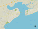 Political Map of Bay Saint Louis  MS