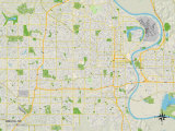 Political Map of Omaha  NE