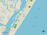 Political Map of Stone Harbor  NJ