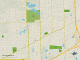 Political Map of Willowbrook  IL