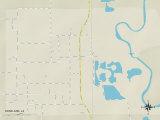Political Map of Roseland  LA
