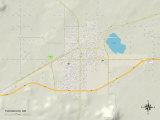 Political Map of Tucumcari  NM