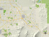 Political Map of Henderson  NV