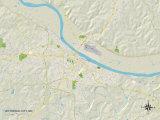 Political Map of Jefferson City  MO
