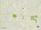 Political Map of Woodstock  IL