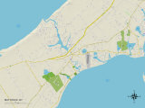 Political Map of Mattituck  NY