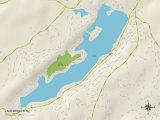 Political Map of Lake Mohawk  NJ