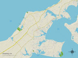 Political Map of Southold  NY