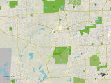 Political Map of Winfield  IL