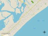 Political Map of Wildwood Crest  NJ