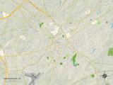 Political Map of Spartanburg  SC