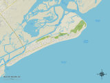 Political Map of Isle of Palms  SC