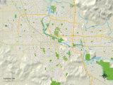 Political Map of Eugene  OR