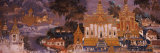 Ramayana Murals in a Palace  Royal Palace  Phnom Penh  Cambodia