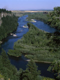 View of a River  Snake River  Idaho  USA
