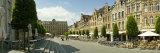 Buildings in a Town  Old Market Square  Leuven  Flemish Brabant  Flemish Region  Belgium